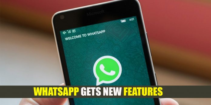 WhatsApp gets new feature