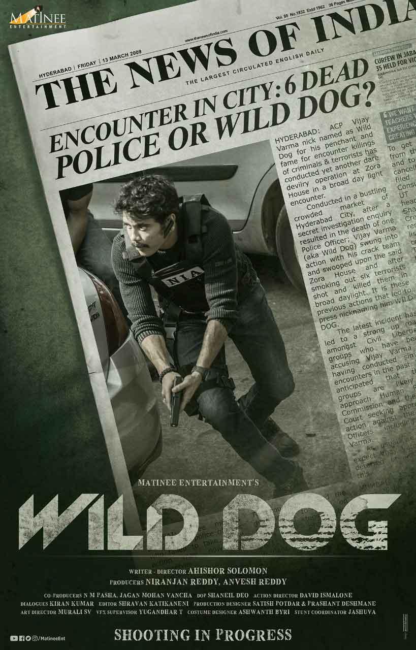 Nagarjuna Movie Wild Dog Poster