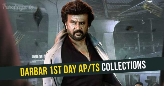 Darbar 1st day Total Collections
