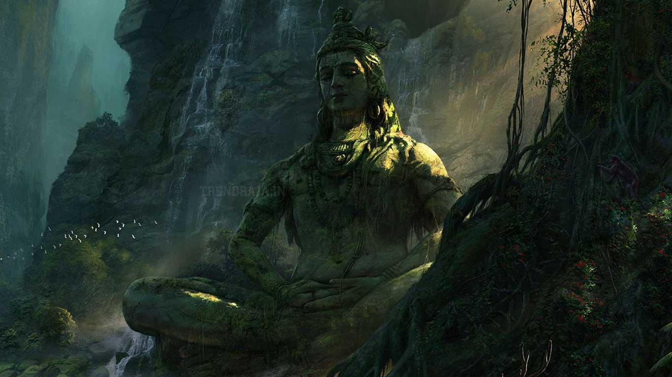 Lord Shiva Yoga Wallpaper