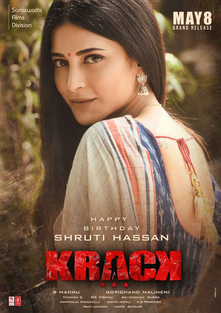 krack movie images hd shruti haasan