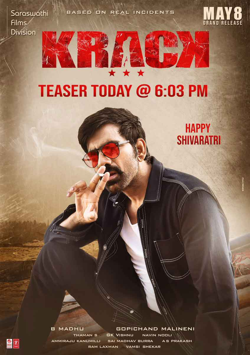 krack movie new images poster hd