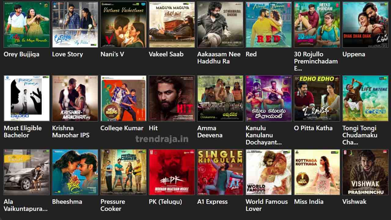 Telugu Movies Download Websites To Watch Movies Online Trend Raja