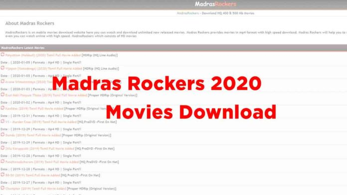 Madras Rockers 2020 Tamil Telugu Movies Download