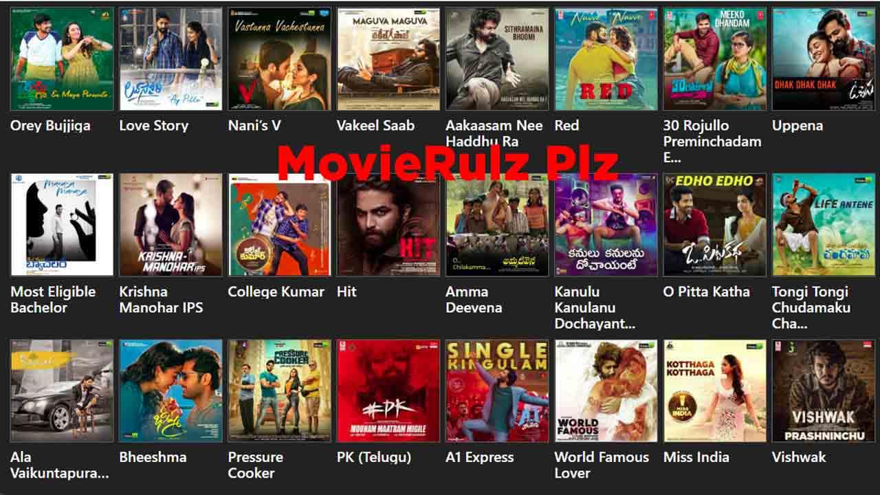 Movierulz Plz Telugu Movies Download 2020 Trend Raja