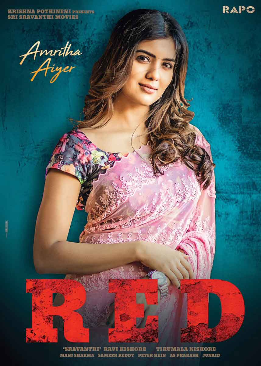 RED Movie Amritha Aiyer HD photos