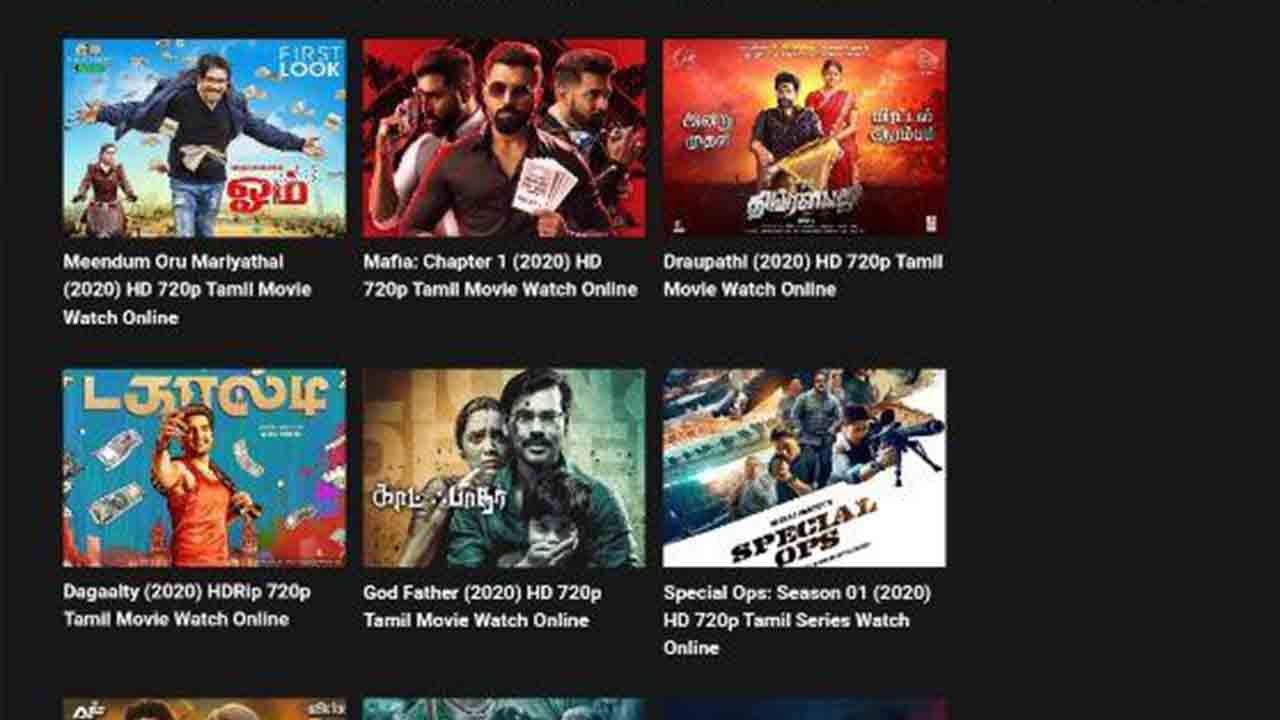 Tamilyogi 2020 New Tamil, Malayalam HD Movies Download