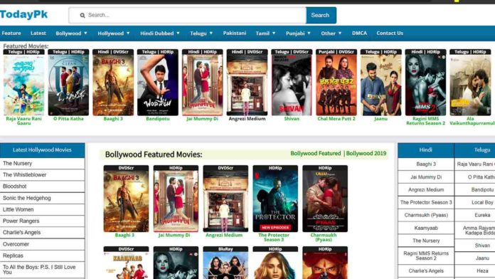 TodayPk 2020 New Telugu Movies Download