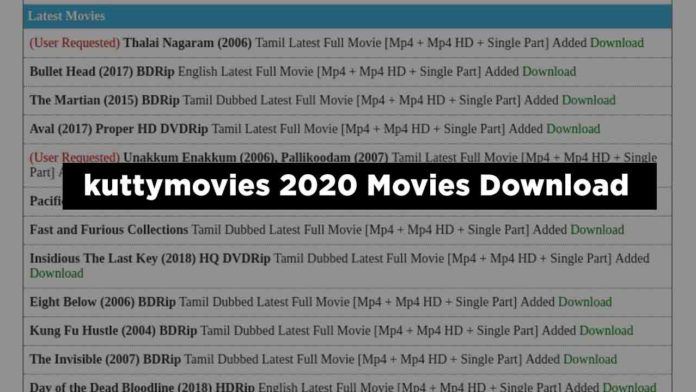 kuttymovies 2020 Tamil Telugu Movies Download