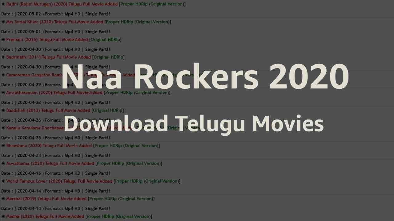 Free download telugu 9xrockers 🏆 2021 movies 9xrockers 2020