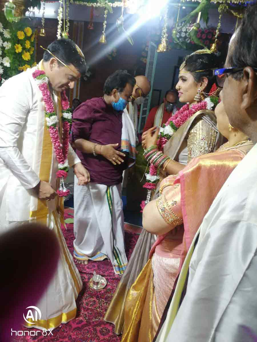 Producer Dil raju wedding photos