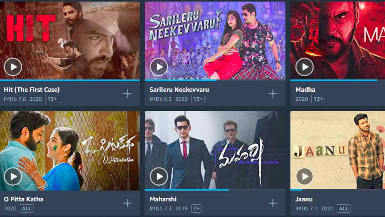 best telugu movies to watch on amazon prime